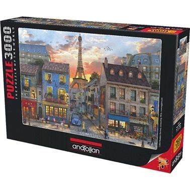 Anatolian  Puzzle 3000 Parça Paris Sokakları 4910 Renkli